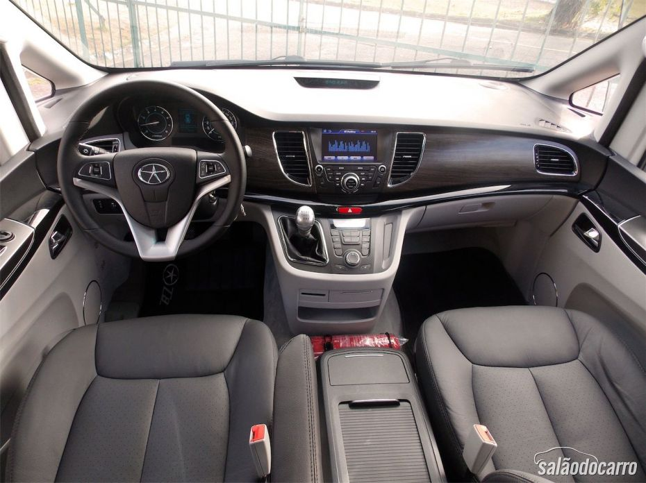 Interior do JAC T8