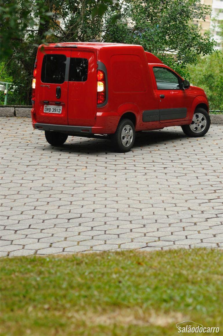 Traseira do Fiat Fiorino 1.4