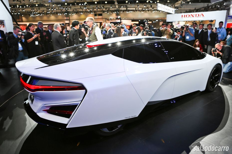 Carro Elétrico Honda FCEV Concept