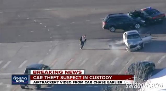 Perseguição Policial Denver GTA