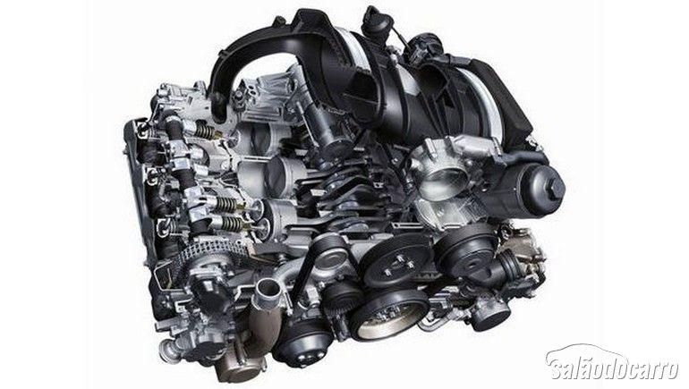 Motor Porsche