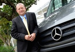 Carlos Garcia, gerente de marketing da Mercedes Sprinter