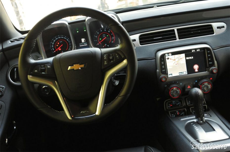 Interior do Camaro SS