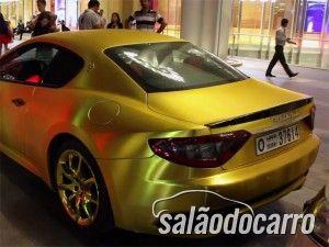 Maserati granturismo gold