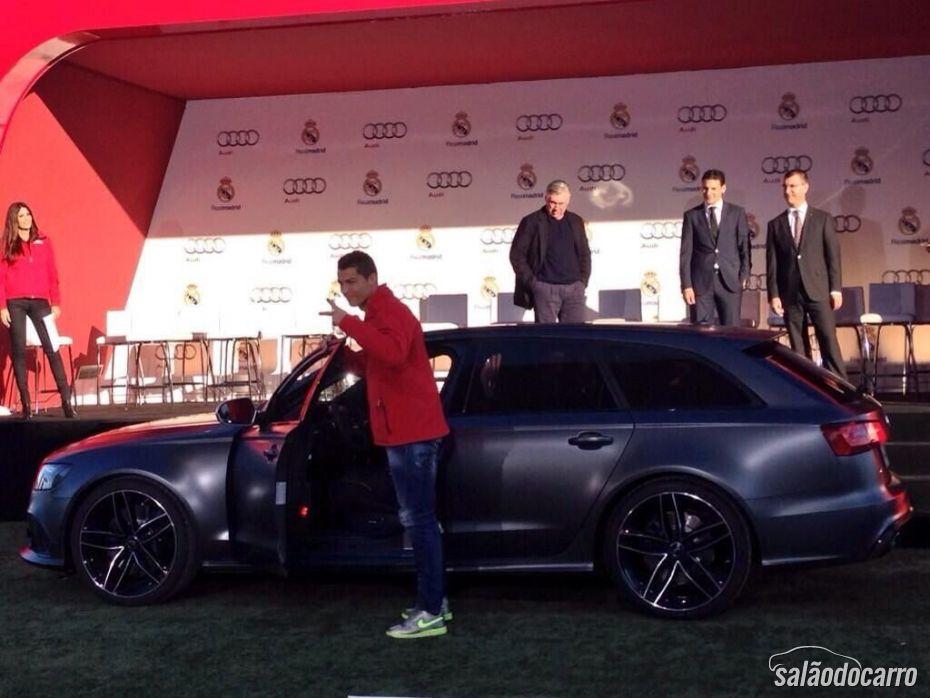 Audi RS6 Avant Ronaldo
