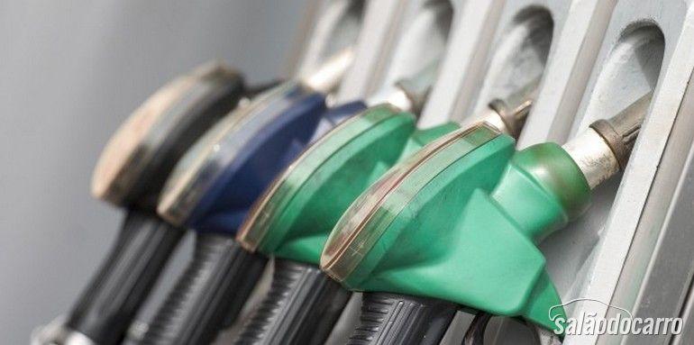 Gasolina x diesel x álcool