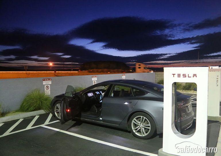 Carro elétrico da Tesla Motors