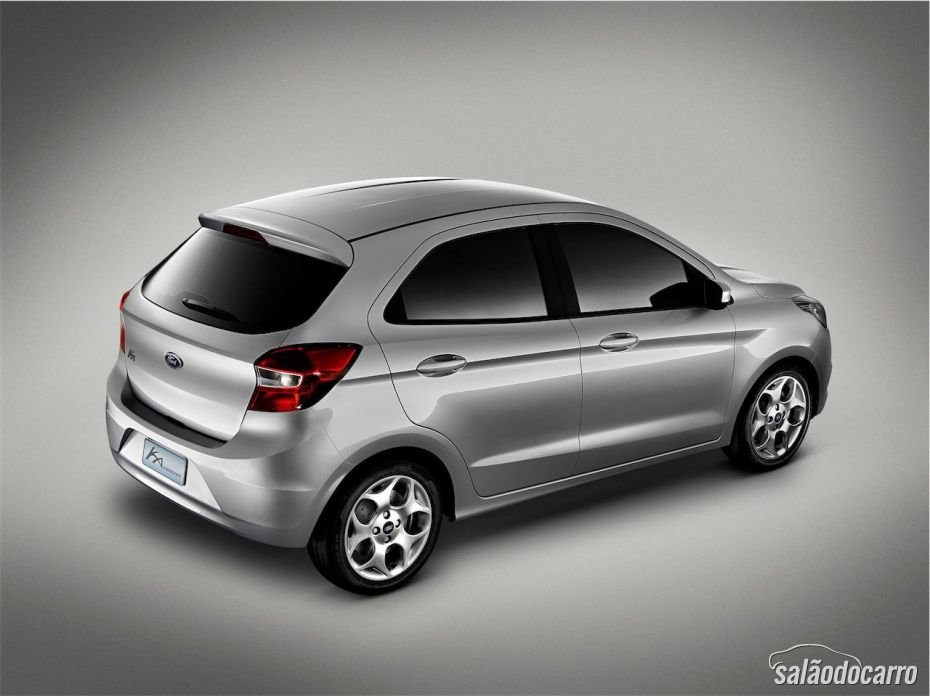 Novo Ford Ka Hatch