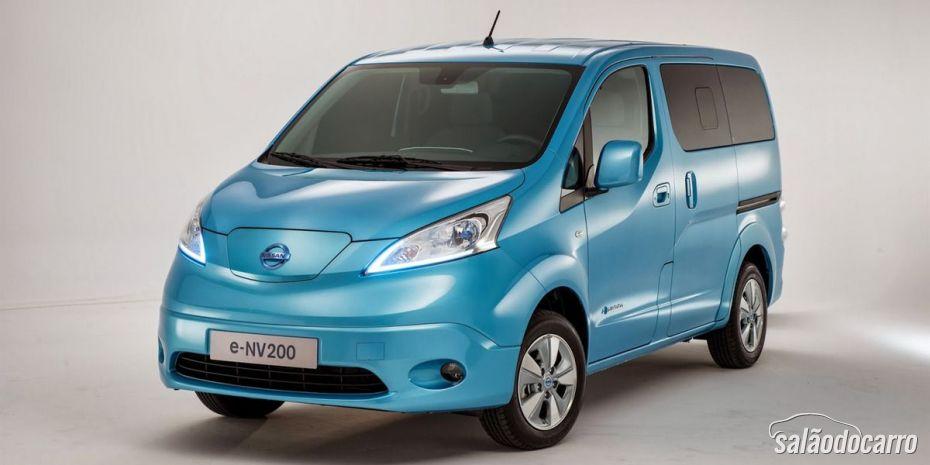 Nissan e-NV200: primeiro veículo comercial 100% elétrico