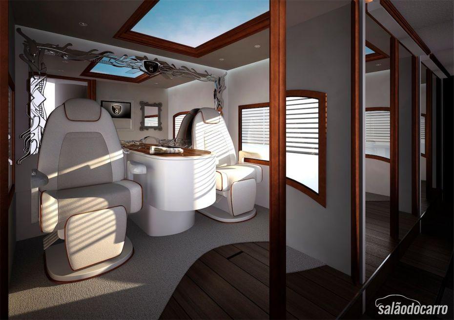 Interior confortável