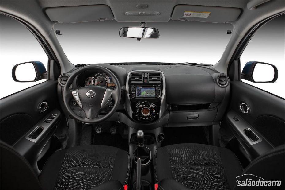 Interior do novo Nissan March