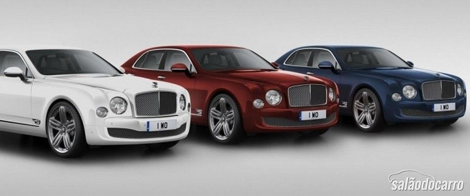 Bentley Mulsanne Limited Edition 95