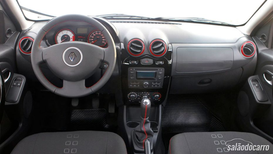 Interior do Renault Sandero 2014