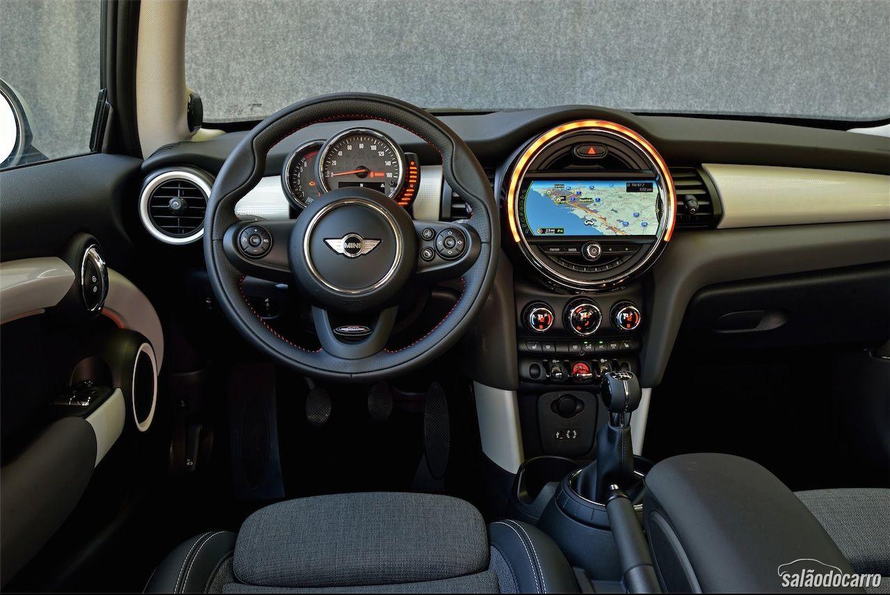 Nova Geração Do Mini Cooper Hatch Testes Salão Do Carro
