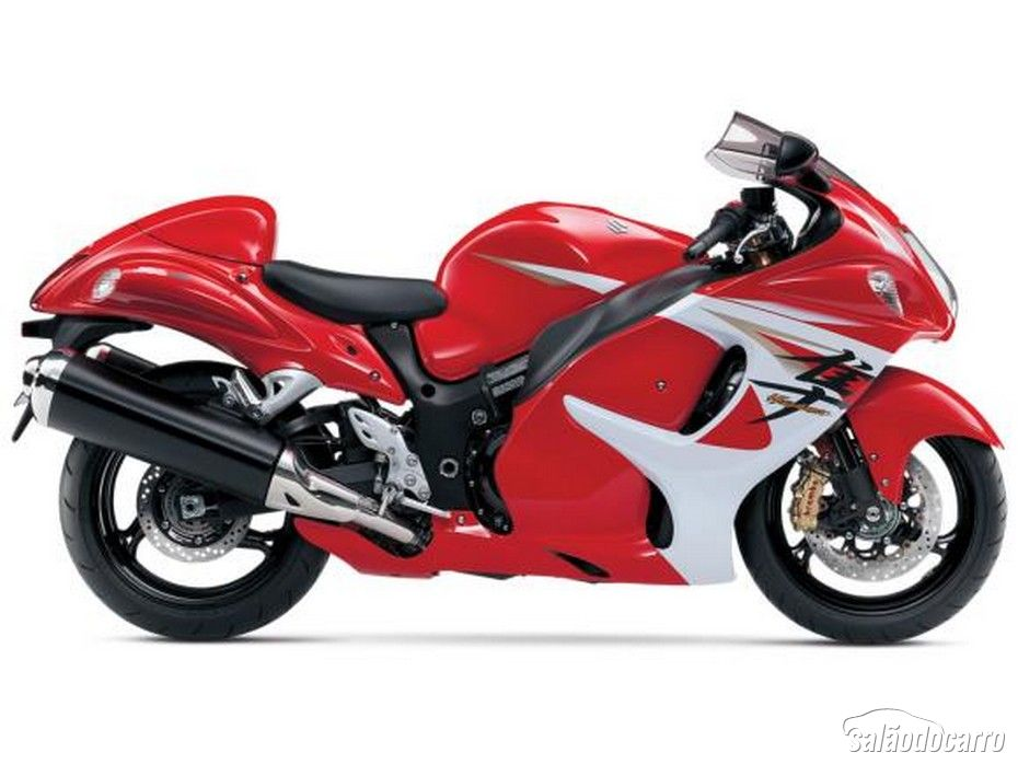 Suzuki Hayabusa vermelha nos Estados Unidos