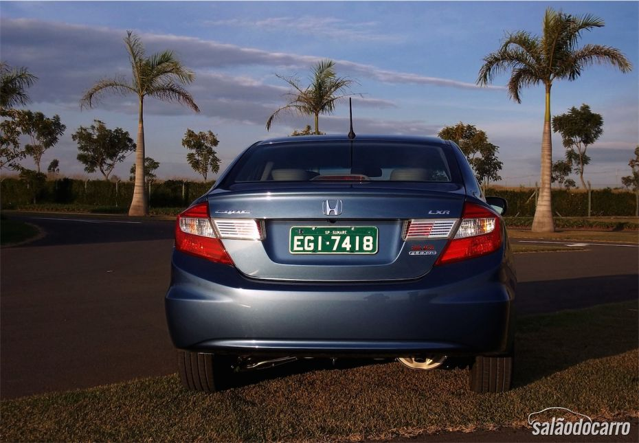 Traseira do Novo Civic 2015
