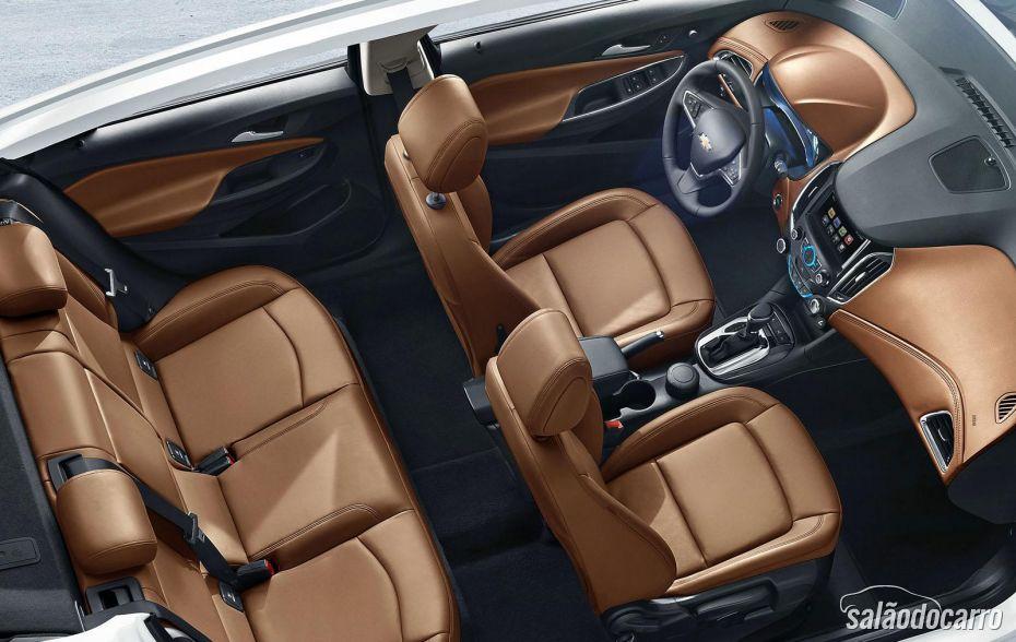 Interior do novo Chevrolet Cruze