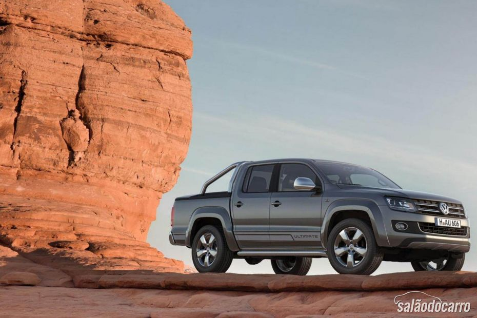 Volkswagen revela novo visual da Amarok Ultimate 2015