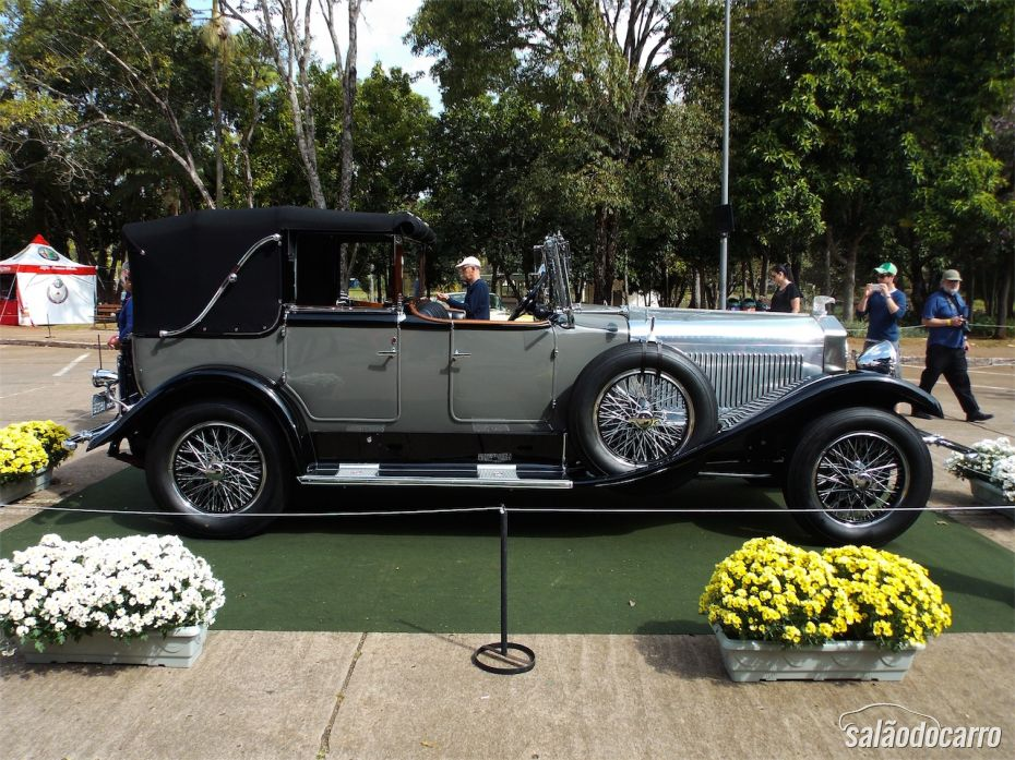 Isotta-Fraschini 8A Cabriolet D'Orsay 1925