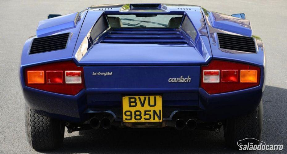 Leilão Lamborghini Countach 1975