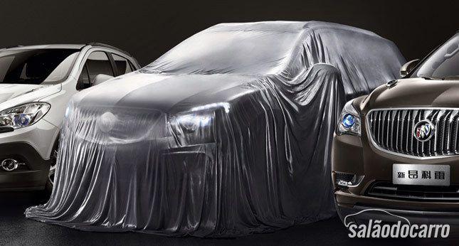 Buick revela teaser do SUV Envision