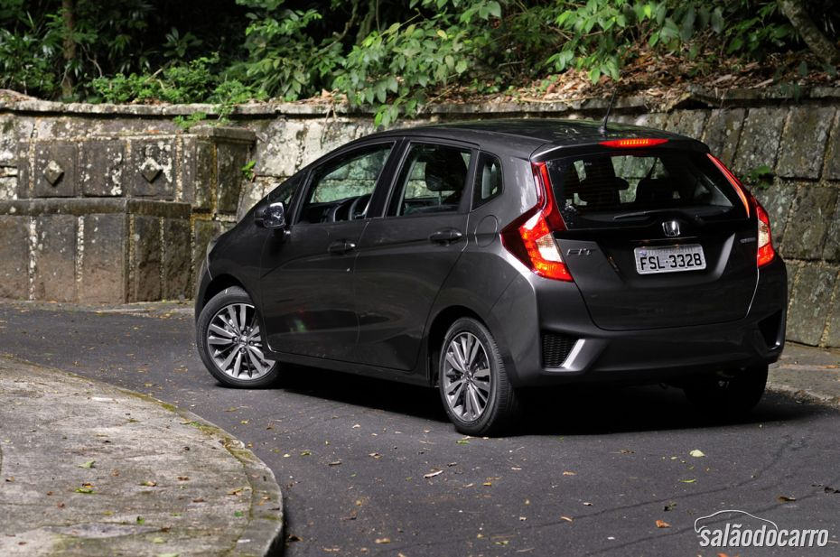 Traseira do Honda Fit