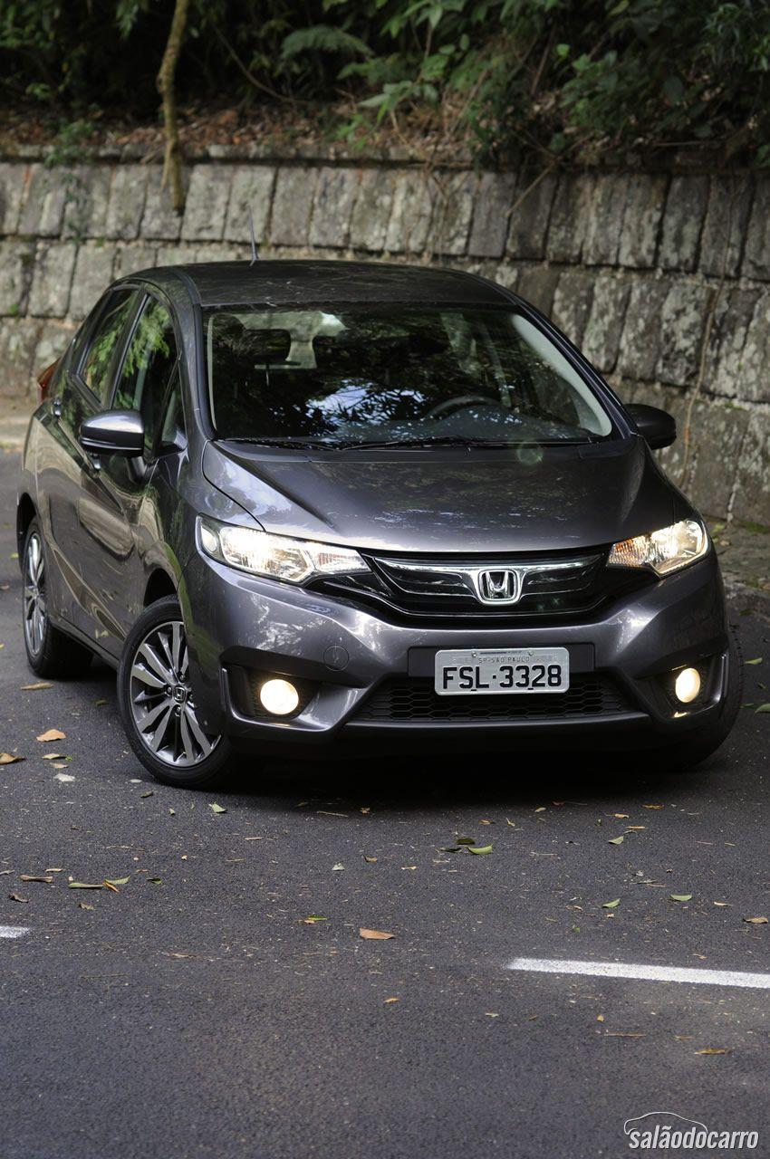 Nova dianteira - Similar ao irmão maior Civic
