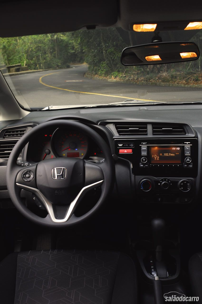 Interior do novo Honda Fit