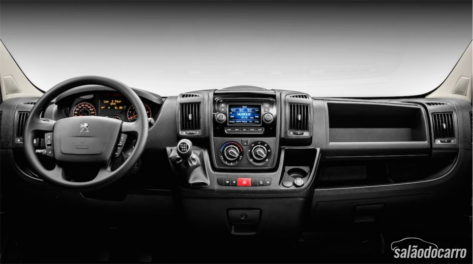 Interior do novo Boxer