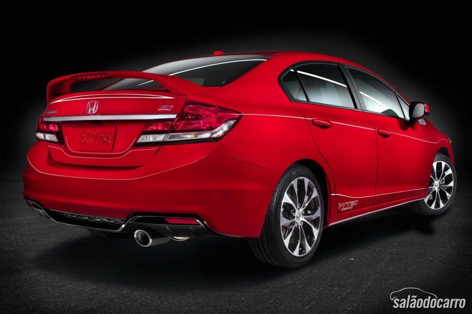 Honda relança Civic Si no formato cupê