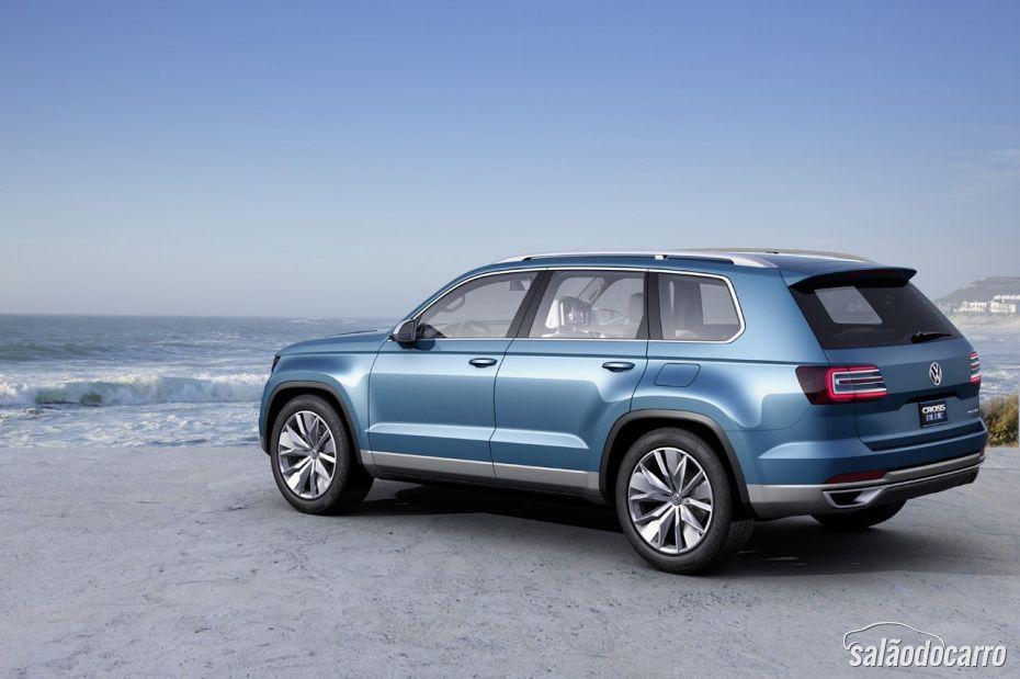 Volkswagen anuncia produção de novo SUV de 7 lugares