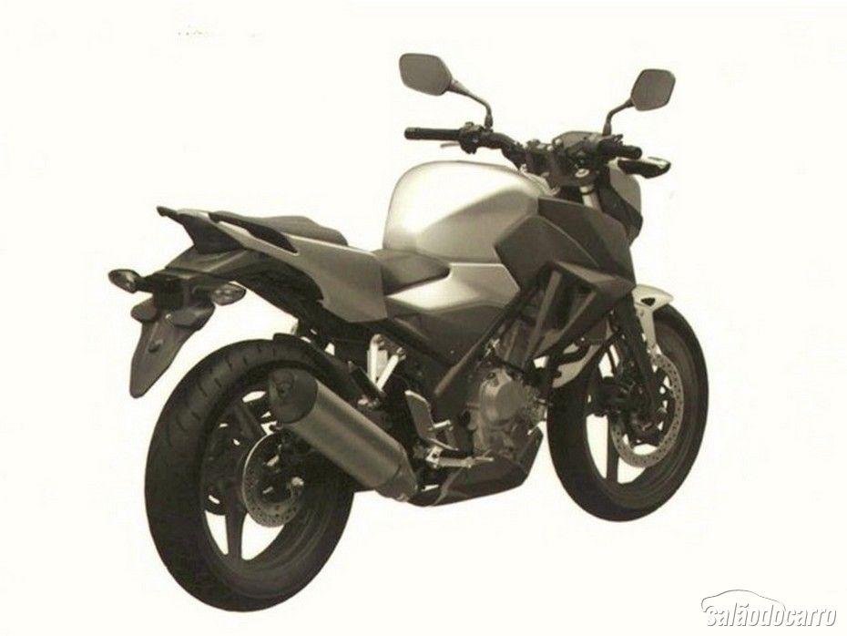 Honda CB 300F 2015