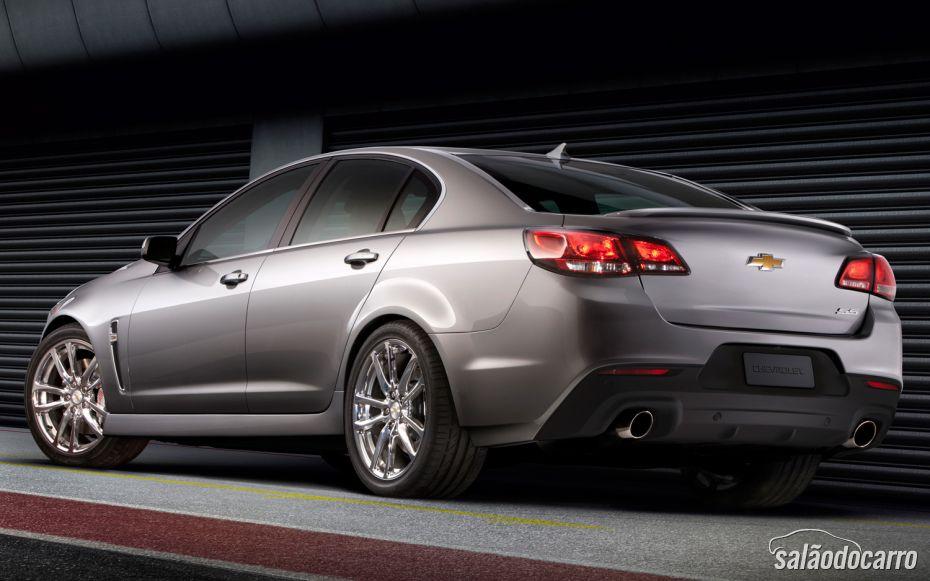 Chevrolet SS terá câmbio manual e suspensão magnética