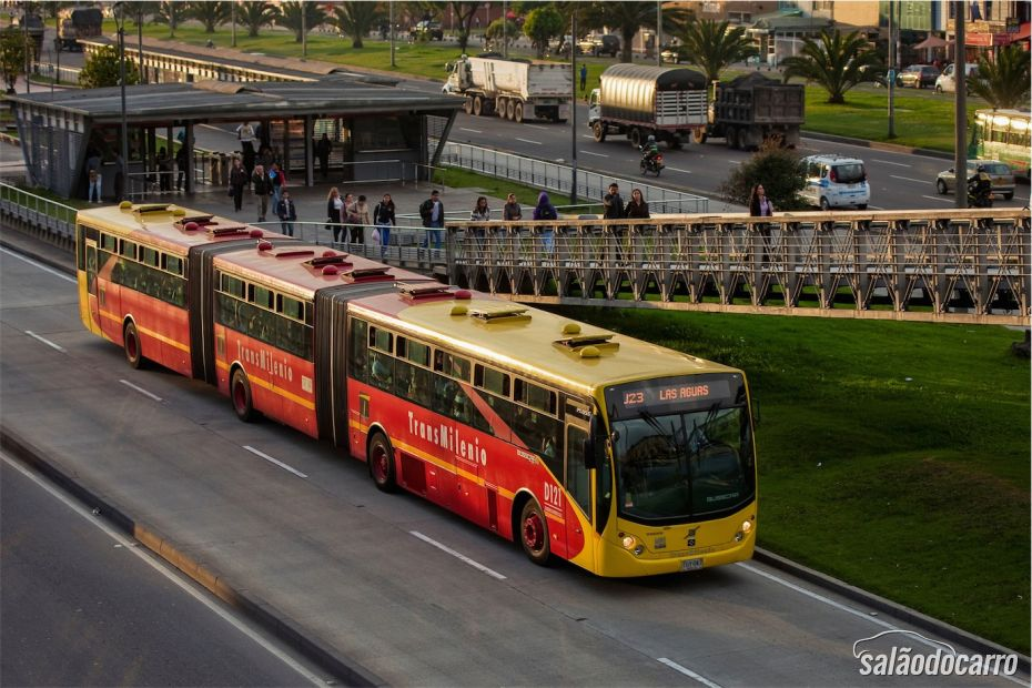 Sistema Transmilênio Bogotá