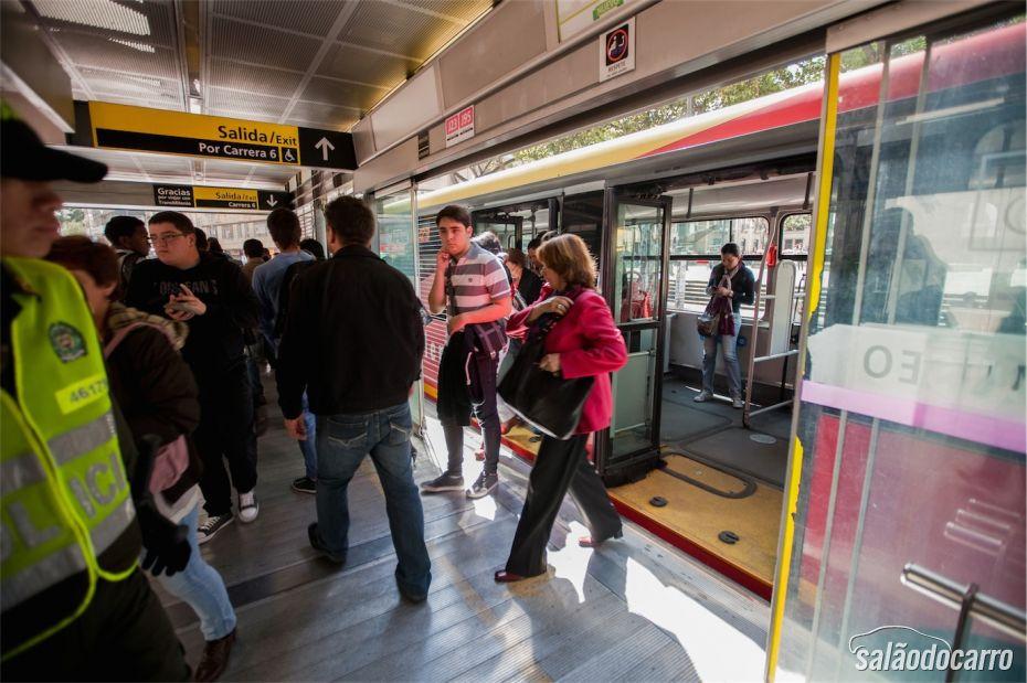 Estação Sistema Transmilênio Bogotá