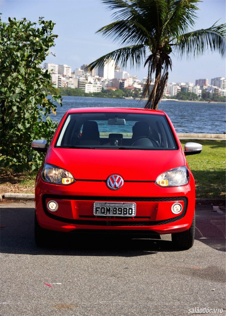 Frente do VW Red up! I-Motion