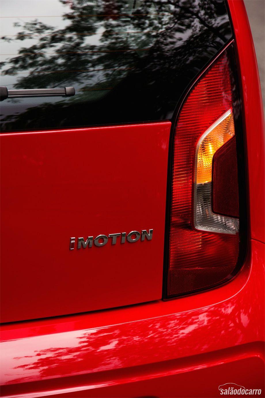 Detalhe do emblema I-Motion