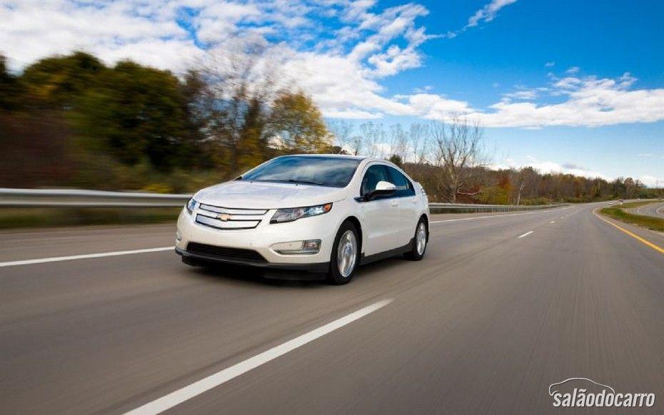 Chevrolet revela Teaser do Volt 2015