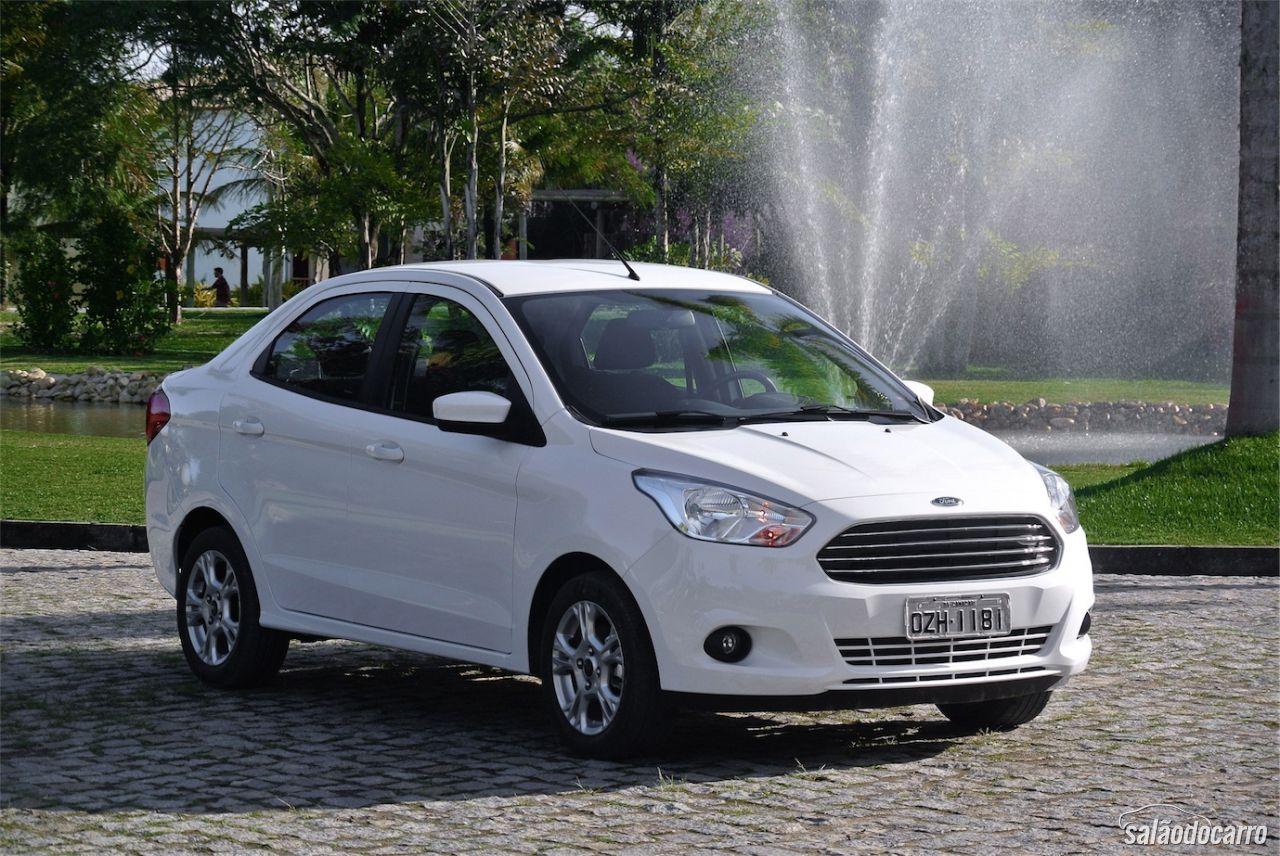 Impress 245 Es Dos Novos Ford Ka E Ka Sedan Testes Sal 227 O
