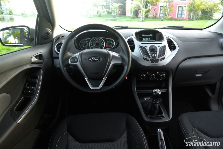 Interior do novo Ford Ka