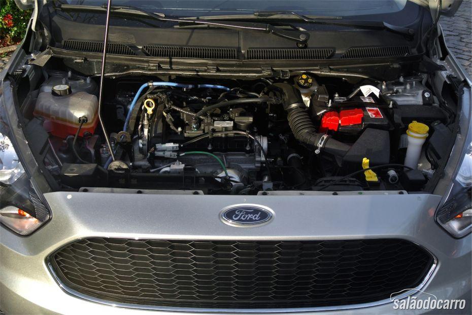 Sob o capô do novo Ford Ka