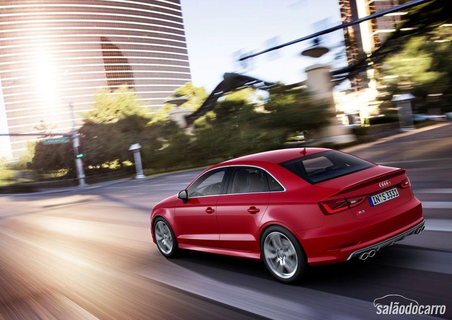 Audi S3 Sedan chega ao Brasil por R$ 207.980
