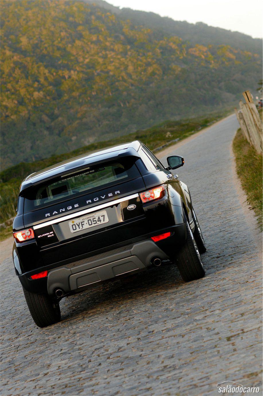 Range Rover Evoque ainda reina com seu design moderno