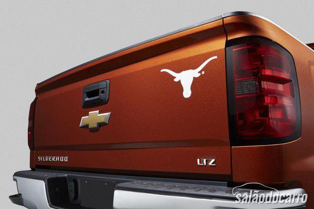 Chevrolet apresenta Silverado edição University of Texas