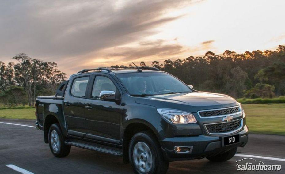 Chevrolet S10 2015 virá com motor 2.5 flex
