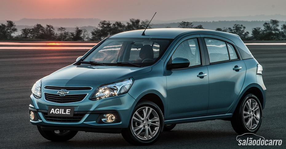 Chevrolet Sonic e Agile saem de linha no Brasil