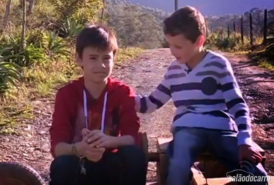 As crianças ficaram famosas depois do vídeo que viralizou