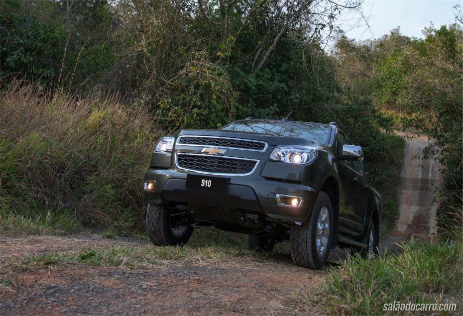Nova Chevrolet S10 LTZ