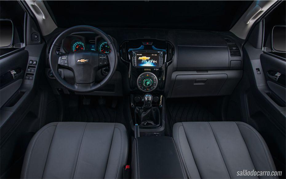 Interior da S10 LTZ