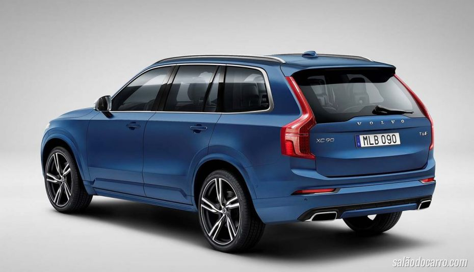 Volvo prepara XC90 R Design